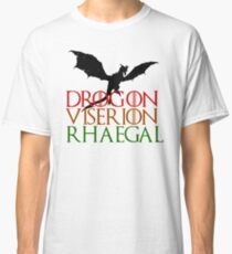 Game of Thrones: Dragons Classic T-Shirt