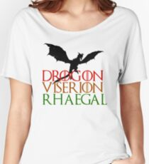 Game of Thrones: Dragons Women's Relaxed Fit T-Shirt