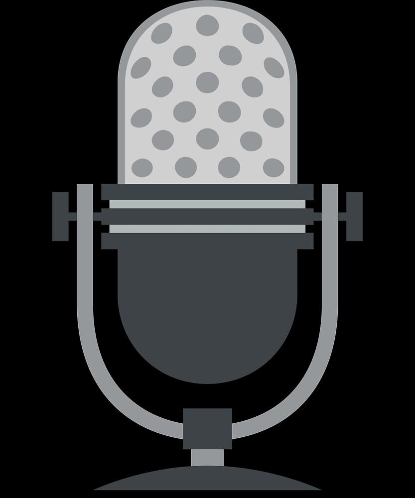 Microphone in Studio by roarr