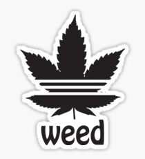 Befreien Sie das Weed Cannabis Leaf Design Sticker 6ec197847