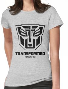 Transformed - Romans 12:2 Womens Fitted T-Shirt