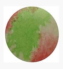 Green And Red Photographic Print
