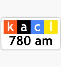 KACL 780 AM Sticker