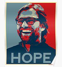 Klopp gives Hope Liverpool Design Poster