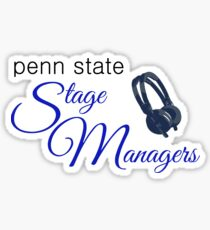 Penn State Stage Managers Sticker. $2.47. Planner Sticker