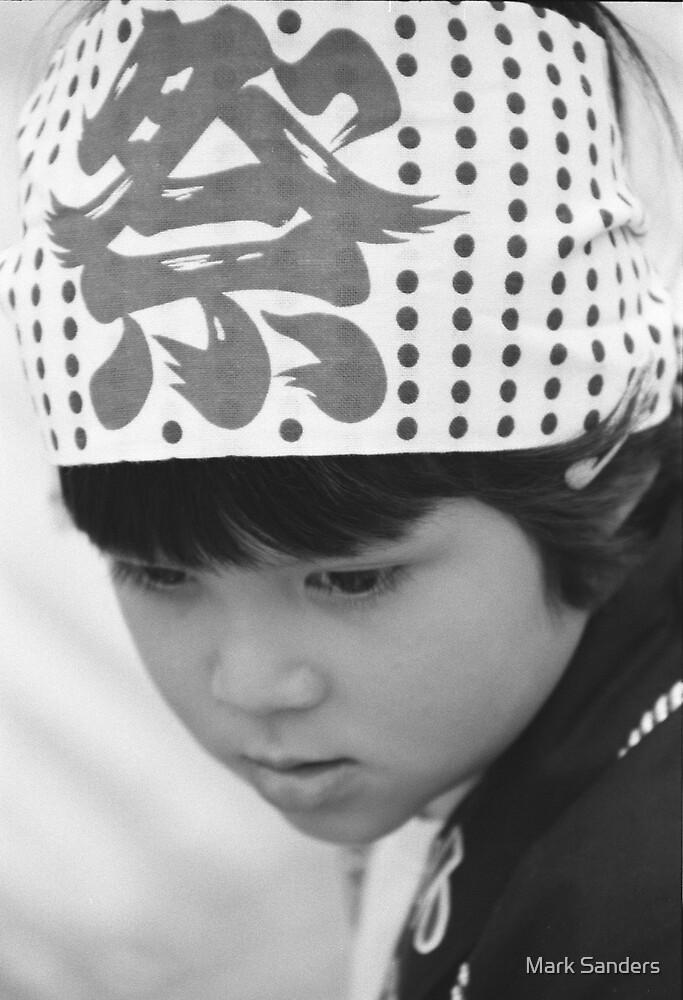 Japanese Boy by Mark Sanders