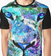 Wild Water Lion Graphic T-Shirt
