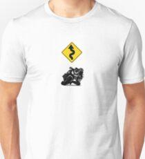 Knee Dragger Motorcycle Unisex T-Shirt