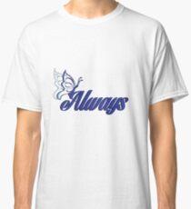 Caskett blue butterfly Classic T-Shirt