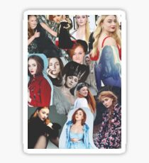 Celebrity: Sophie Turner (Collage) Sticker