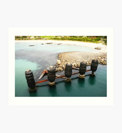 Tyred Old Jetty II Art Print