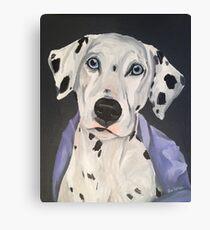 Dalmatiner Kunst von Lee H Keller Leinwanddruck