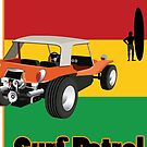 Rasta Dune Buggy on Surf Patrol by Frank Schuster