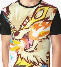 Shiny Arcanine Graphic T-Shirt