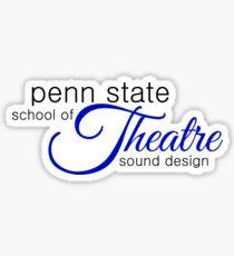 Penn State Theatre - Sound Design Sticker