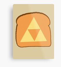 Triforce toast Metal Print