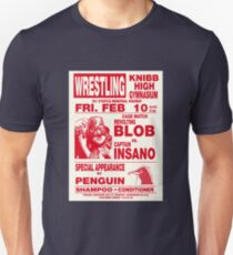 The Revolting Blob Wrestling Poster Unisex T-Shirt