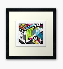 pluto is near you Framed Print