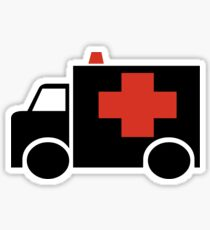 Ambulance Sticker