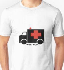 Ambulance Wee Woo T-shirt unisexe