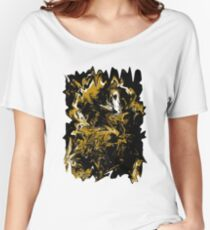 Cave Abstract Expressionism Women's Relaxed Fit T-Shirt
