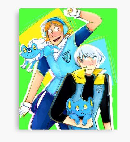 souyo pokemon Canvas Print