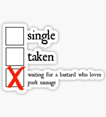Relationship Status: Ramsay Bolton Sticker