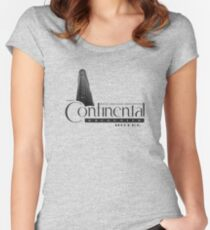 Continental Hotel Women's Fitted Scoop T-Shirt