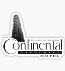 Continental Hotel Sticker