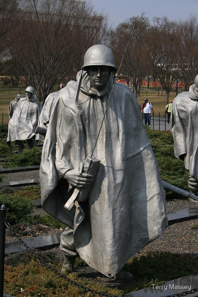 Koriean Memorial by Terry Massey