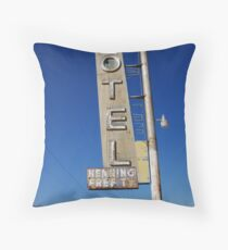 Bagdad Motel Throw Pillow