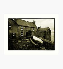 Lerwick, Shetland Islands, Scotland Art Print