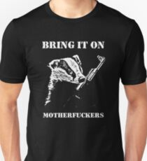 Badger Fights Back Unisex T-Shirt
