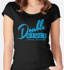 Double Duece Women's Fitted Scoop T-Shirt