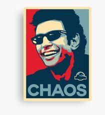 Lienzo Camiseta de Ian Malcolm 'Chaos'