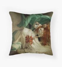 Fall to be lighter, die to be alive Throw Pillow