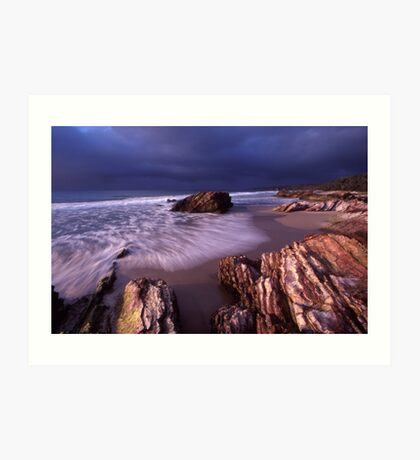 approaching cold front - East Gippsland, Vic. Art Print