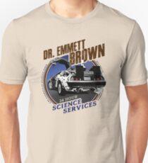 Dr. Emmett Brown Science Services T-Shirt