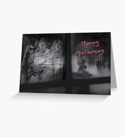 Happy Gothmas Greeting Card