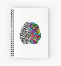 Brain Spiral Notebook
