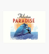 Fhloston Paradise Art Print
