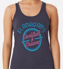 Camiseta de tirantes para mujer Cócteles y sueños de Flanagan