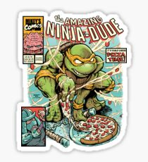 The Amazing Ninja Dude Sticker