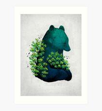 Lámina artística El abrazo de la naturaleza
