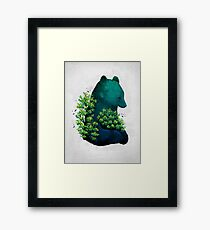 Nature's Embrace Framed Print
