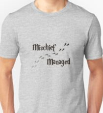 Mischief Managed Unisex T-Shirt
