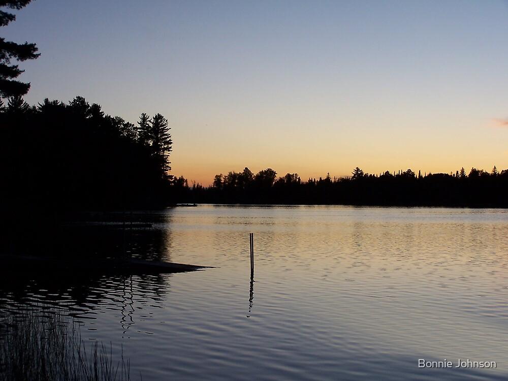 Helen Lake at Sunset by Bonnie Johnson