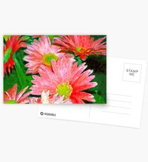 Flowers Up Close Postcards