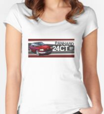 Panhard 24CT Illustrated Mug Women's Fitted Scoop T-Shirt