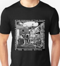 Crass - the Feeding of the 5000, Flight or Drive? Survive, the Second Sitting, Anarchy and Peace T-Shirt